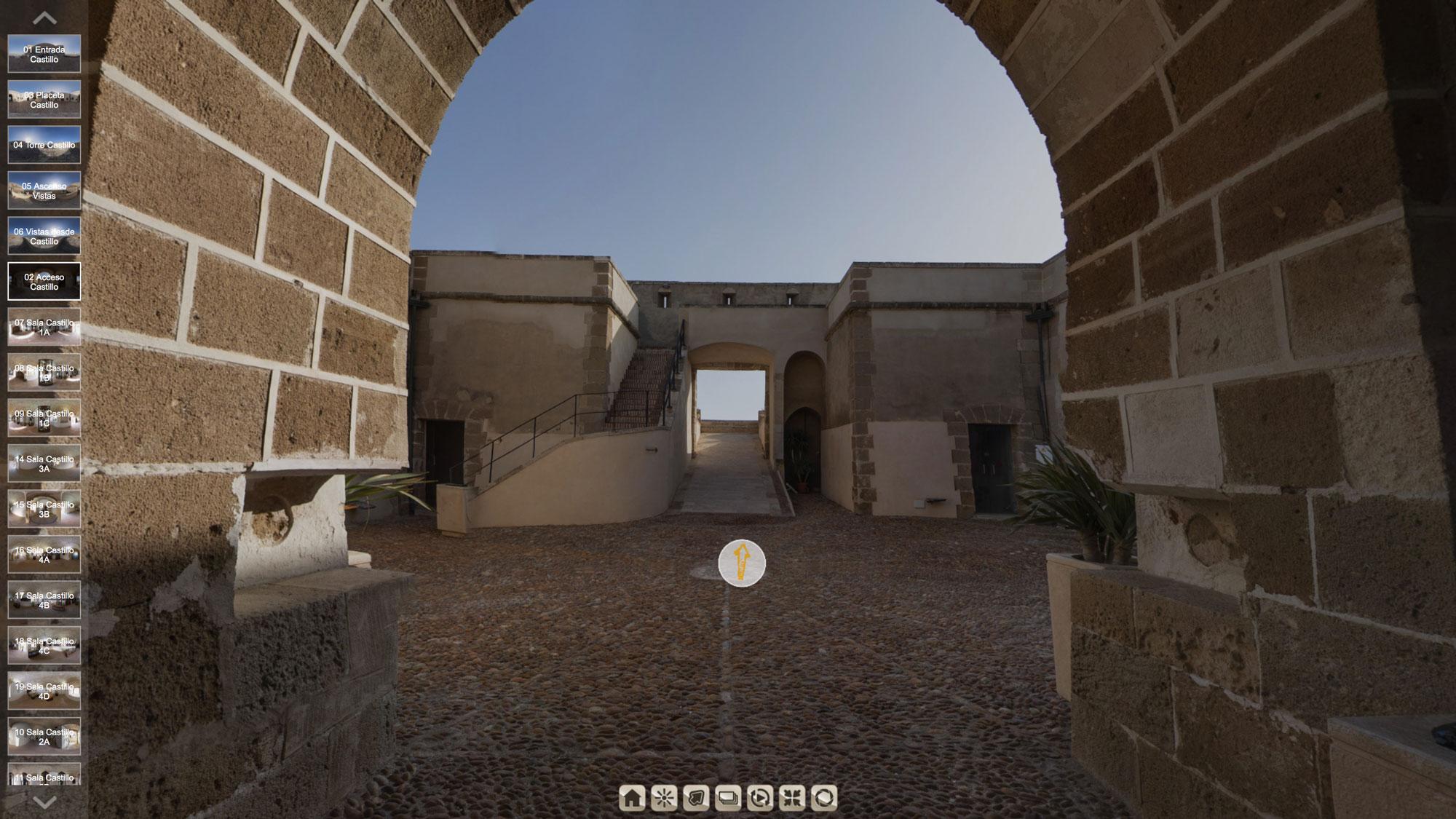 Imagen de uno de nuestros Tours Virtuales 360 de Patrimonio