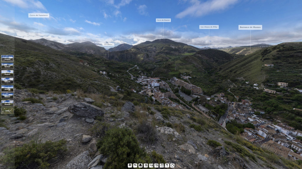 Imágenes Tour Virtual 360 Patrimonio Natural